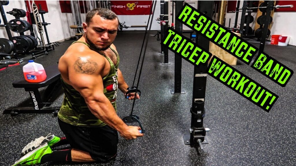 Top 10 Resistance Band Tricep Extension Exercises